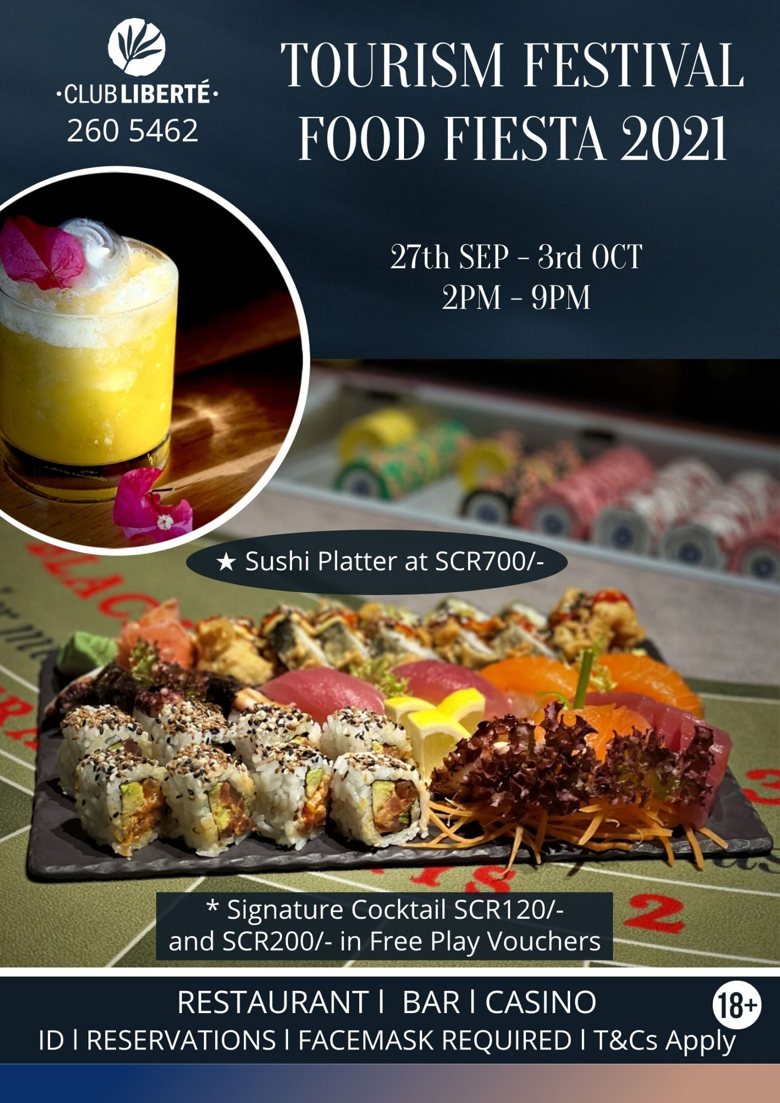 Seychelles Food Fiesta @ Club Liberte